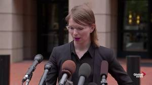Chelsea Manning refuses to cooperate with Grand Jury subpoena (02:44)