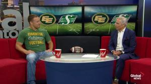 Edmonton Eskimos assist Food Bank