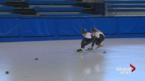Olympic success in short track speed skating an inspiration for Calgary skaters