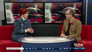 Honorary Colonel J'lyn Nye speaks about passion for Canadian Military