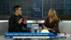 "Rachel Joyce is back with her fourth novel, ""The Music Shop"""