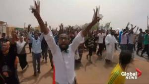 Protesters in Sudan demand military hand over power to civilians
