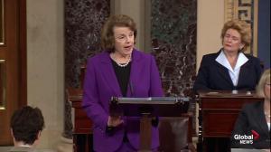 Senator Feinstein calls CIA torture a stain on America's legacy