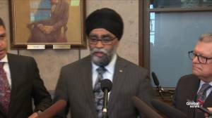 Sajjan says discussions need to happen on payment of Norman's legal fees