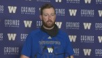 RAW: Blue Bombers Matt Nichols Interview – Nov. 7