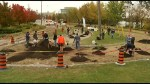 Peterborough Depave Paradise project, largest of its kind in Canada