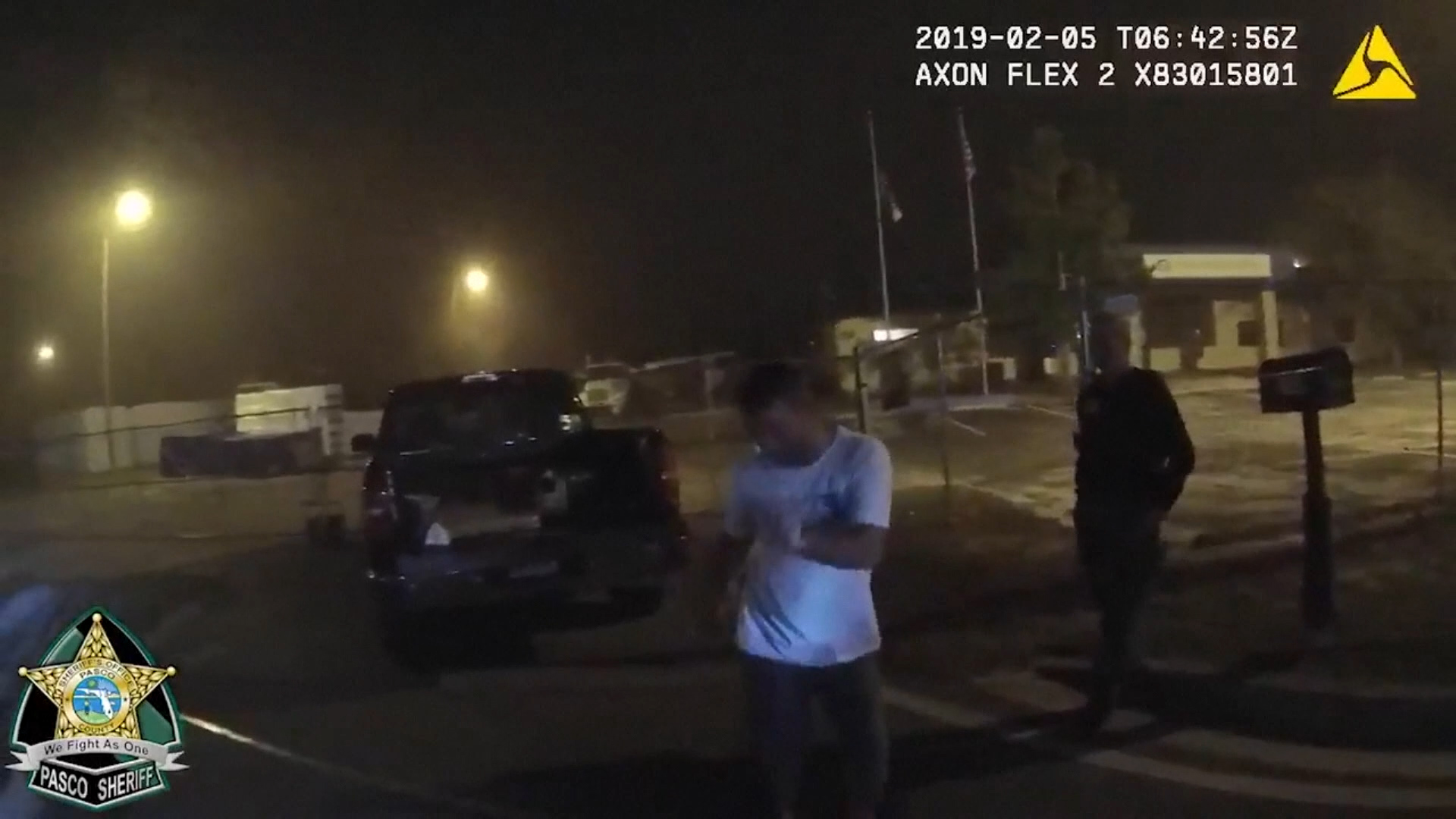 Suspected DUI driver dances throughout sobriety test in Florida