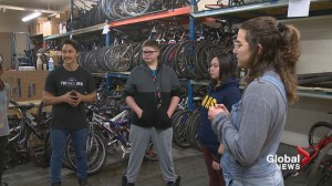 Calgary after school program provides life lessons and free bikes