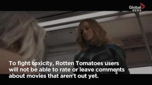 Negative reviews for 'Captain Marvel' prompts changes at RottenTomatoes.com