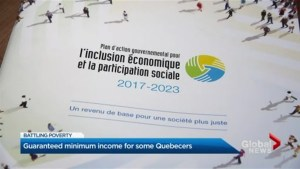 Focus Montreal: Guaranteed minimum income
