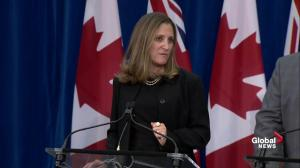 Canada is 'single largest market' for United States: Freeland