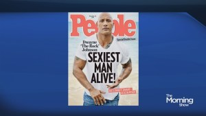 'The Rock' named Sexiest Man Alive