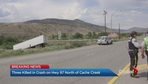 Highway 97 crash kills three
