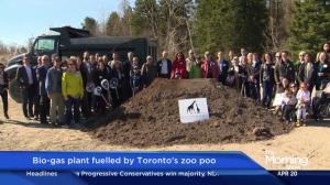 Bio-gas plant fueled by Toronto's zoo poo