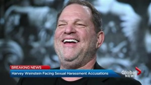 Movie producer Harvey Weinstein facing sexual harassment accusations