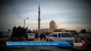 Death toll in Egyptian mosque attack tops 300
