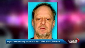 Las Vegas gunman may have scouted other music festivals