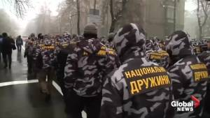 Ukraine's use of martial law provokes Russian threats