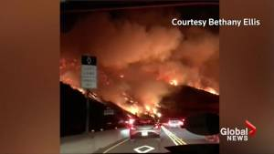 California wildfires rage on, forcing thousands to evacuate