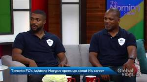 Toronto FC's Ashtone Morgan opens up about his career