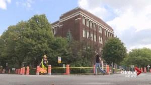 Traffic chaos around Willingdon School