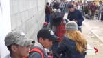 Buses shuttle migrants into Tijuana