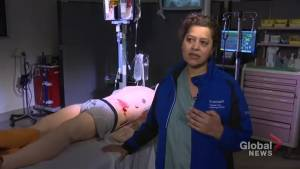 Toronto trauma surgeon says team uses wartime techniques to treat victims of gun violence