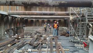 Montreal sewage retention