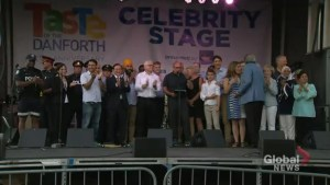 Taste of the Danforth brings out thousands showing support for shooting victims