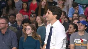 Trudeau stands up for immigrants as town hall questioner slams Islam