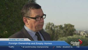 Where We Live: Foreign ownership and empty homes – Part 2