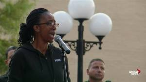 Victims of Dayton shooting honoured in vigil with song