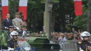 Macron presides over Bastille Day celebrations in Paris