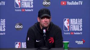 NBA Finals: Nick Nurse says Kevin Durant brings 'explosive transition game'