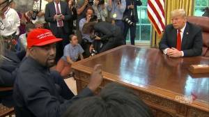 EXTENDED: Kanye West goes on lengthy rant to reporters during meeting with Trump in Oval Office