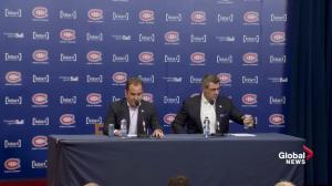 'It's a tragedy for these kids chasing their dreams': Habs' Bergevin and Molson react to Humboldt crash