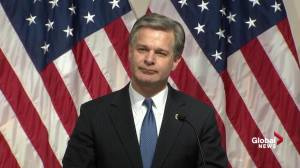 Wray says he was 'disappointed' by IG's report on Clinton email probe