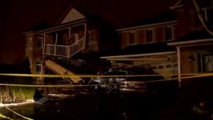 Two homes damaged after TTC bus crash