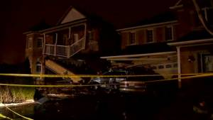 Two homes damaged after TTC bus crash