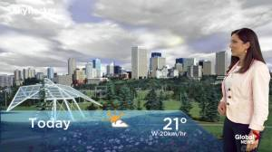 Edmonton early morning weather forecast: Tuesday, August 6, 2019
