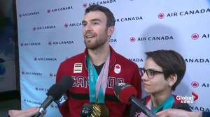 Eric Radford and Meagan Duhamel talk about returning home after Olympics