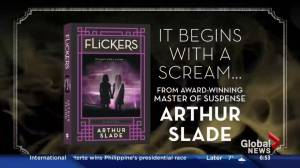 Arthur Slade's new book 'Flickers'