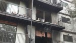 Rescuers help victims of Duncan apartment fire