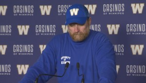 RAW: Blue Bombers Mike O'Shea Media Briefing – Aug. 31