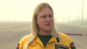 Alberta Wildfire official compares High Level wildfire to campfire