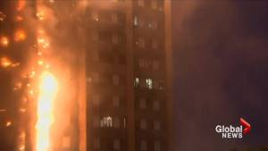London apartment residents trapped in fire screamed, waved lights, jumped: witnesses