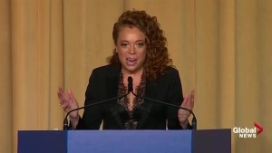 Michelle Wolf gives racy performance at White House Correspondents' Dinner