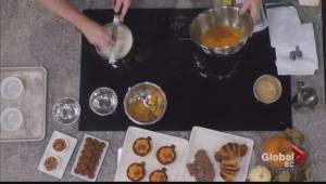 Pumpkin crème Brulee with Chez Christophe