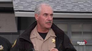 California shooter 'bent on killing people at random': police