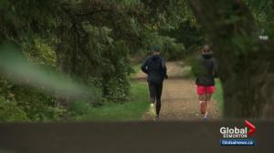 Alberta men share a passion for running